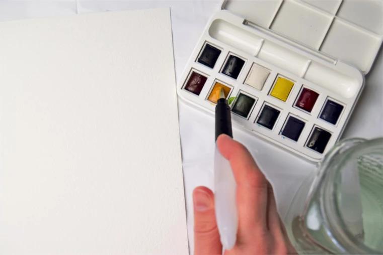 watercolour technique