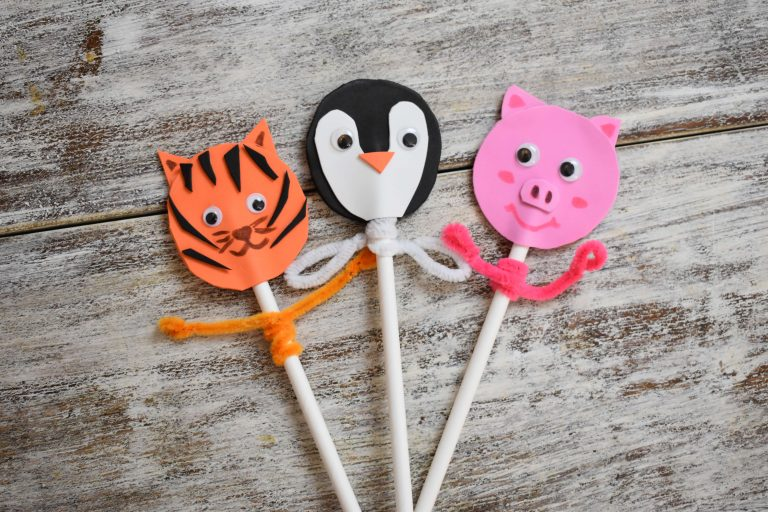 How to Make Animal Puppets From Foam?